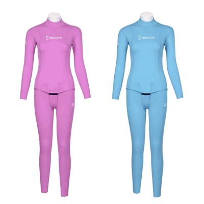 Nylon hoodless Suit (1.5-2mm)F Top only